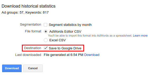 Adwords-Keyword-Planner-Save-to-Google-Drive